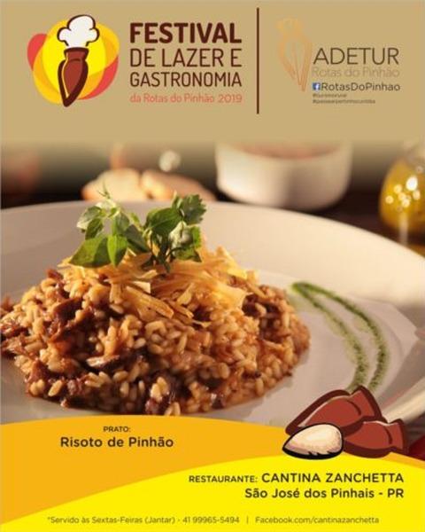 7ª Festival de Lazer e Gastronomia Rotas do Pinhão