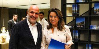 Arquiteto Jayme Bernardo lança livro na Todeschini Água Verde
