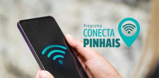 Prefeitura de Pinhais, Pinhais , População, acesso a internet , internet