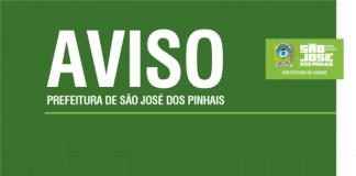 Aviso, São José dos Pinhais